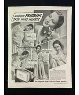 Lux Soap Dorothy Lamour Magazine Ad 10.75 x 13.75 Clorox Franco American - $9.89