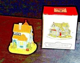 Liberty Falls Collection AH104 Bergman's Clock Shop AA19-1480 Vintage - $29.65