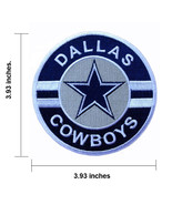Dallas Cowboys Large Size Logo Embroidered Iron 1 Patch. - $1.45