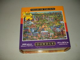 Dowdle - Valley of the Sun 1000 Piece Puzzle - Used, Guaranteed, EX - $17.81