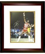Ralph Sampson signed Houston Rockets 16x20 Photo Custom Framed vs Lakers - $137.00