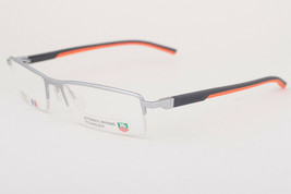 Tag Heuer 821 009 Automatic Gray Orange Eyeglasses 0821-009 56mm - $224.42