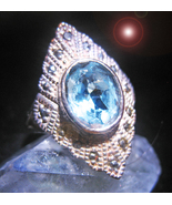 HAUNTED ANTIQUE RING 8,000X MASTERING WEALTH HIGH MAGICK MYSTICAL TREAS... - $277.77