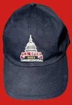 US Golf Open 2011 Congressional Men's USGA Member Adjustable Blue Strapb... - $12.99