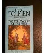 J. R. R. Tolkien LORD OF THE RINGS THE FELLOWSHIP OF THE RING AUTHORIZED... - $494.01