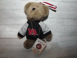 "Boyds Bears Racing Famiiy #29 Nascar Kevin Harvick Ornament 6"" T Taupe Plush   - $10.67"