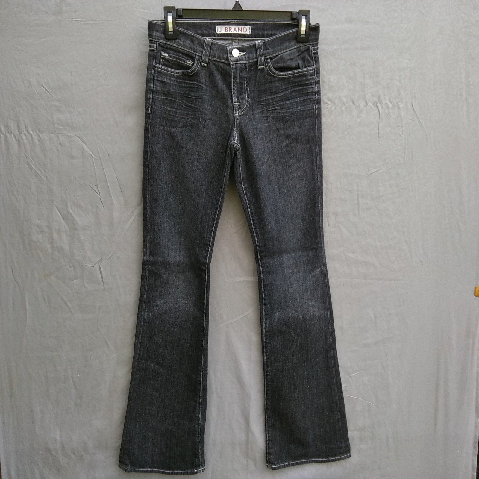 Primary image for J Brand 118 BootCut Womens Jeans Size 26 Black