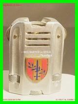 Extremely Rare Vintage Military Petrol Lighter w/ Crest R.M.L.  25 Dec 4... - $242.49