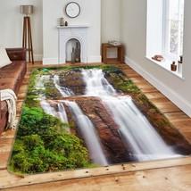 3D Waterfall View 05 Non Slip Rug Mat Room Mat Quality Elegant Carpet UK... - $106.68+