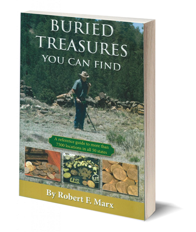 3d book cover buried treasures you can find