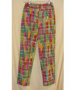 Harve' Bernard Interesting Cotton Pants-6  - $10.00