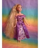 """Disney Rapunzel Doll 10 1/2"""" Dressed / No Shoes - as is - $8.29"""