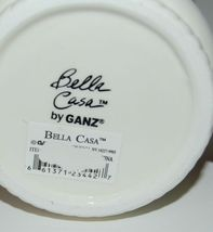 Bella Casa by Ganz Christmas Teapot mug Set White Dark Red image 9