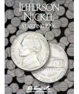 Jefferson Nickel Coin Folder Album #3, starting 1996 by H.E. Harris - $8.49
