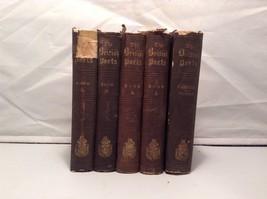 The British Poets vintage books volumes 1 through 4