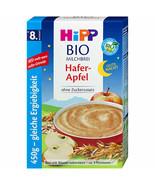 HiPP Evening Apple Oats Porridge/ Hafer Apfel -ORGANIC-6th month on FREE... - $24.74