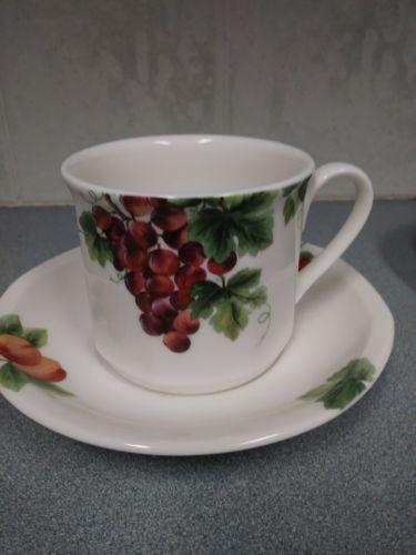 1994 Royal Doulton Everyday China VINTAGE GRAPE Coffee Tea Cup \u0026 Saucer Set & 1994 Royal Doulton Everyday China VINTAGE and similar items