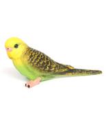 Budgie Parakeet Budgerigar Parrot Green Bird Fairy Garden Terrarium Figu... - $7.99