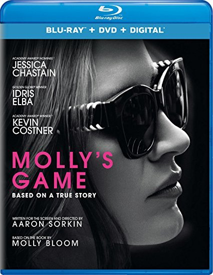 Molly's Game [Blu-ray+DVD+Digital, 2018]