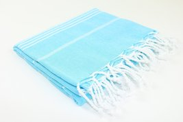Turkish Towel Fouta Peshtemal Beach Bath Spa Yoga Hammam Gym Pool Towel Wrap Par - $21.77
