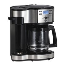 Hamilton Beach 49980A Coffee Maker, 2-Way Brewer Single Serve with 12-Cu... - $60.23