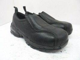 Nautilus Men's Slip-On N1630 Steel Toe ESD Work Shoes Black Leather Size... - $56.99