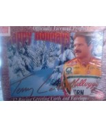 Terry Labonte Christmas Happy Holidays racing greeting cards Sealed 12 c... - $7.69