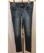 American Eagle AE Skinny Stretch Distressed Jeans Size 4 Long (28 x 32)  - $12.95