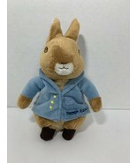 Peter Rabbit Frederick Warne & Co. 2010 Beatrix Potter plush toy bunny b... - $8.90