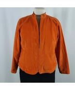 Women's CJ Banks Stretch Zip Up Jacket Casual Blazer, Cotton/Spandex L-XL - $15.84