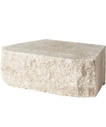 Pavestone Retaining Wall Block Textured Tan (144 Pieces/ 46.6 Sq. ft./ P... - $1,047.88