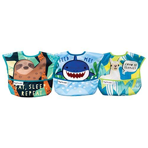 Tiny Twinkle Mess-Proof Easy Bib 3 Pack (Animals)