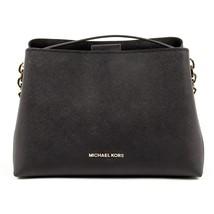 Black ONE SIZE Michael Kors Womens Handbag PORTIA 35S7GPAL3L BLACK - $314.20