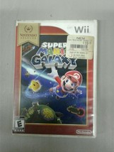 Wii Super Mario Galaxy Nintendo Selects Case and Manual Only (dd) (g324) - $7.25