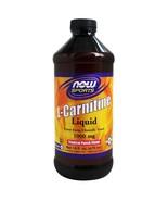 NOW Foods L-Carnitine Liquid, Parmaceutical Grade L-Carnitine Tropical P... - $20.85