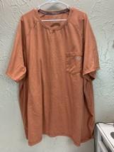 DICKIES Temp-iQ™ Performance Cooling T-Shirt Orange Big Mens Size 4XL - $16.79