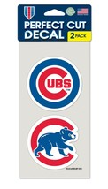 Chicago Cubs Set of 2 Die Cut Decals [Free Shipping]**Free Shipping** - $9.99