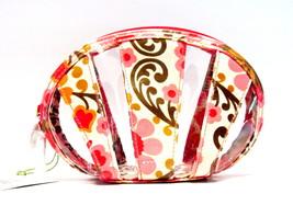 Vera Bradley Little Seashell Vinyl Cosmetic Case Folkloric NWT - $23.00