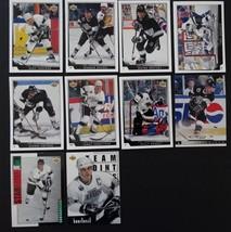 1993-94 Upper Deck Series 1 Los Angeles Kings Team Set 10 Hockey Cards No #83 - $3.00