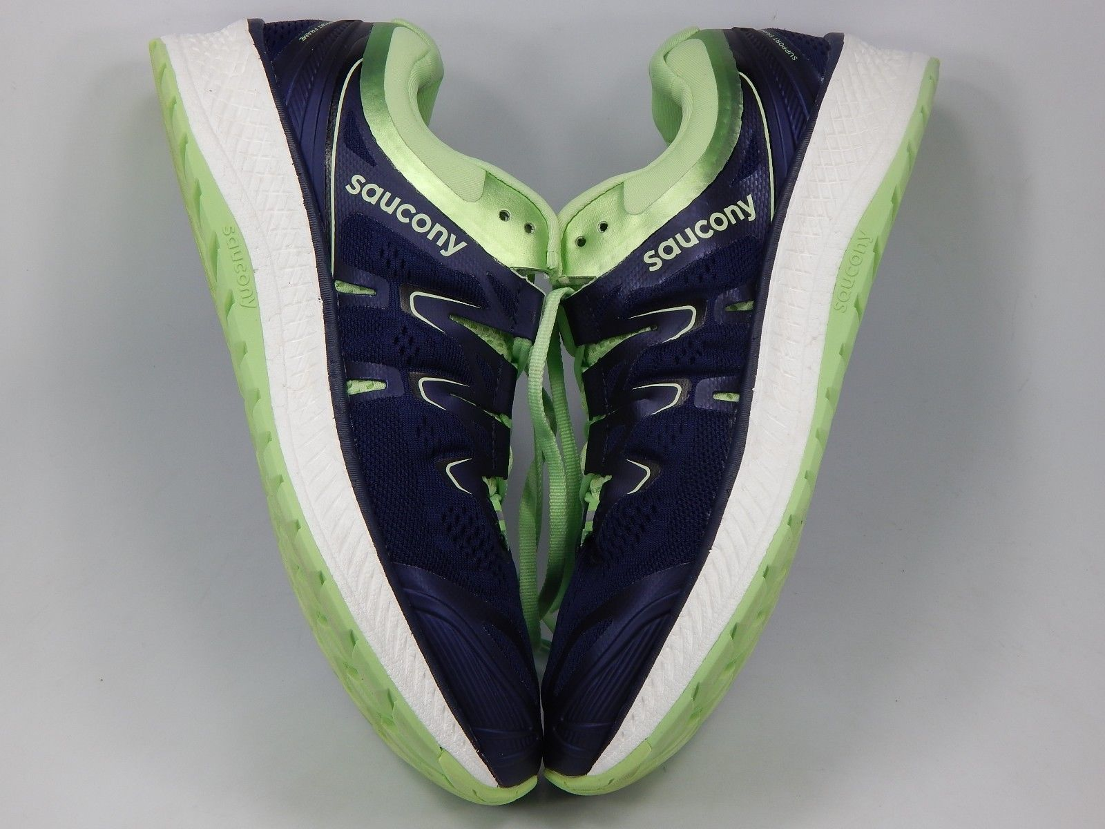 Saucony Triumph ISO 4 Size 9.5 M (B) EU 41 Women's Running Shoes Blue S10413-3