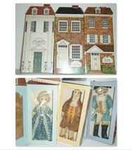 Hallmark Bicentennial Rag Dolls Martha & George Washington + Benjamin Franklin  - $14.85