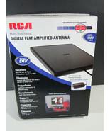 RCA ANT1450B Amplified Digital Flat Indoor Multi Directional HDTV Antenna - $9.89