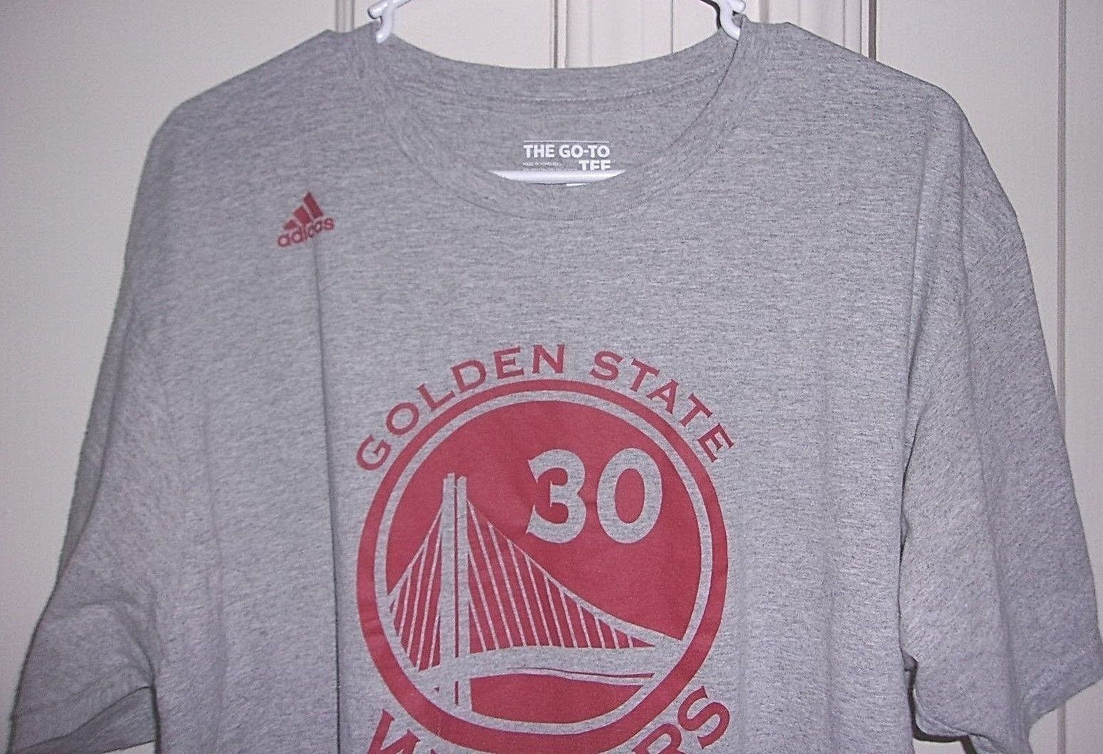 low priced 7aac4 ffa7a Adidas Mens XL Seth Curry Golden State Warriors Graphic T Shirt
