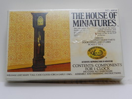 THE HOUSE OF MINIATURES William and Mary Tall Case Clock-#40018-Sealed/N... - $9.89