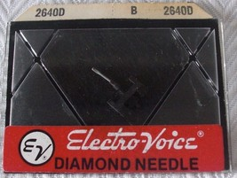 Vintage NOS Electro-Voice Record Player Turntable Needle Cartridge 2640 ... - $4.95