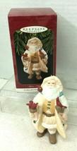 1997 Merry Olde Santa #8 Cardinal Hallmark Christmas Tree Ornament MIB P... - $18.32