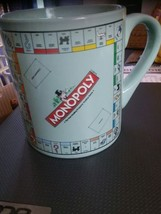 MONOPOLY Board game coffee mug Hasbro green - $9.94
