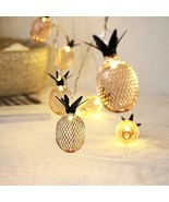 HuiZhen Novelty Pineapple Fairy String Lights with 20 LED, Battery Opera... - $347,91 MXN