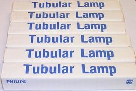Lot of 6 Philips 20T6-1/2/IF Frosted Intermediate Base 20 Watt Tubular L... - $9.99