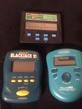 Lot of Radica Pocket Blackjack 21 Electronic HandHeld Games With Batteries - $18.65